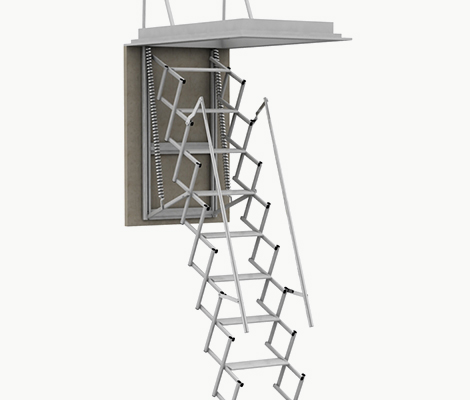 Produzione e vendita scale retrattili - Scale a botola da soffitto ...