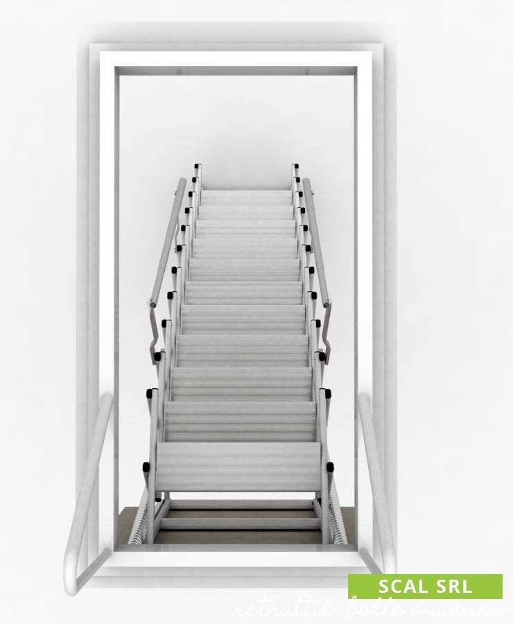 scala retrattile a soffitto