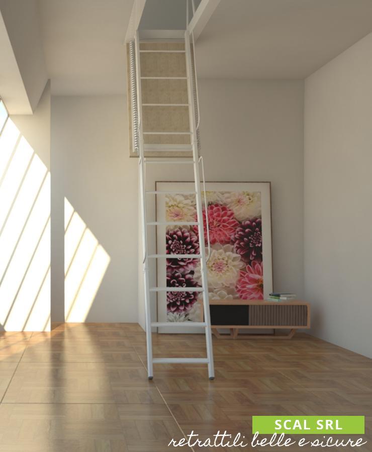 scala retrattile a soffitto solida