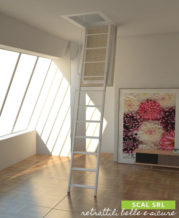 scala retrattile per soffitte