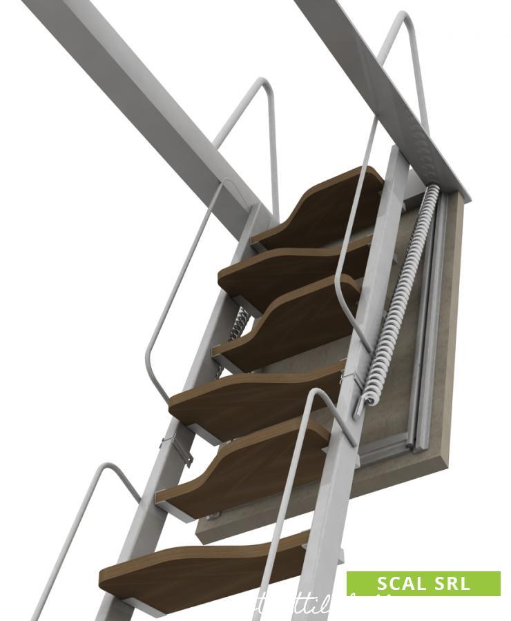 scale retrattili per soffitto a elementi