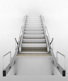scale retrattili per soppalchi