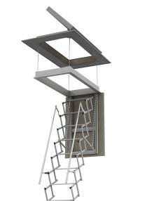 scale retrattili per terrazzo