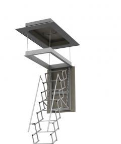 scala retrattile per terrazzi su misura