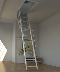 scala per accesso al terrazzo